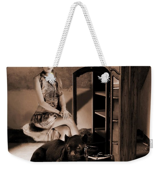 Therian - Cat People Weekender Tote Bag