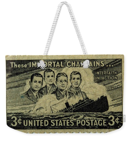 These Immortal Chaplains Weekender Tote Bag