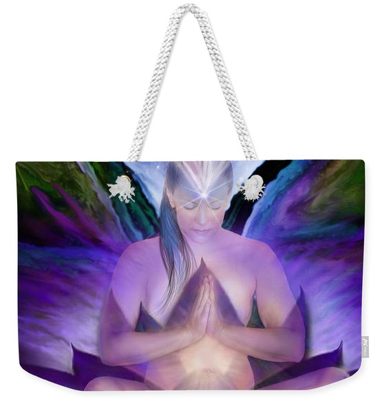 Third Eye Chakra Goddess Weekender Tote Bag