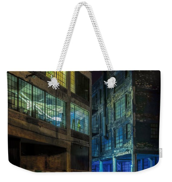 Third Ward Alley Weekender Tote Bag