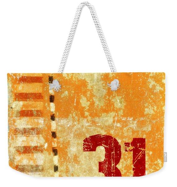 Thirty-one Stripes Weekender Tote Bag