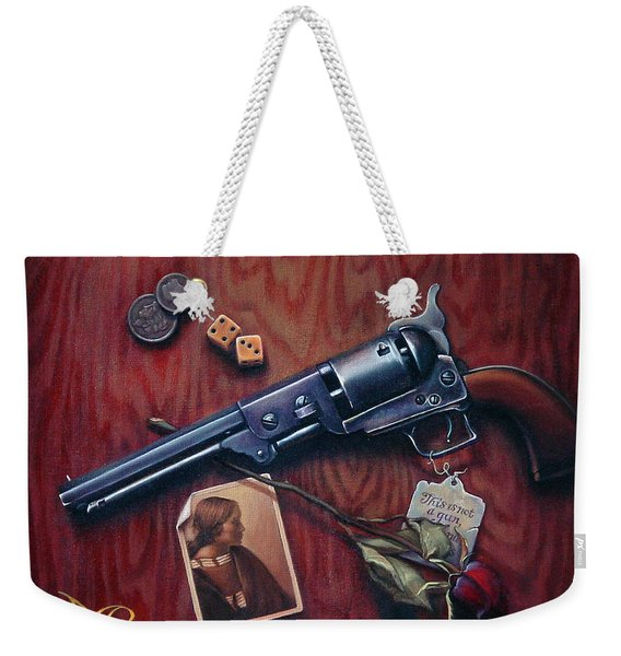 This Is Not A Gun Weekender Tote Bag