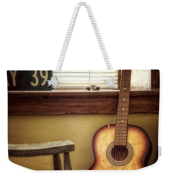 This Old Guitar Weekender Tote Bag