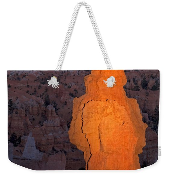 Thors Hammer Sunset Point Bryce Canyon National Park Weekender Tote Bag