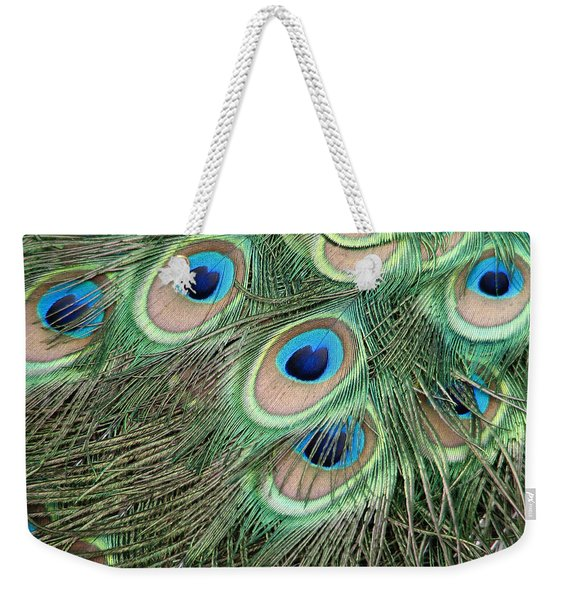 Those Danger Eyes Weekender Tote Bag