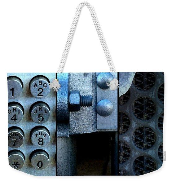 Thou Shalt Not Steel Weekender Tote Bag