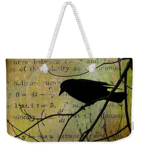 Thoughts Of Crow Weekender Tote Bag