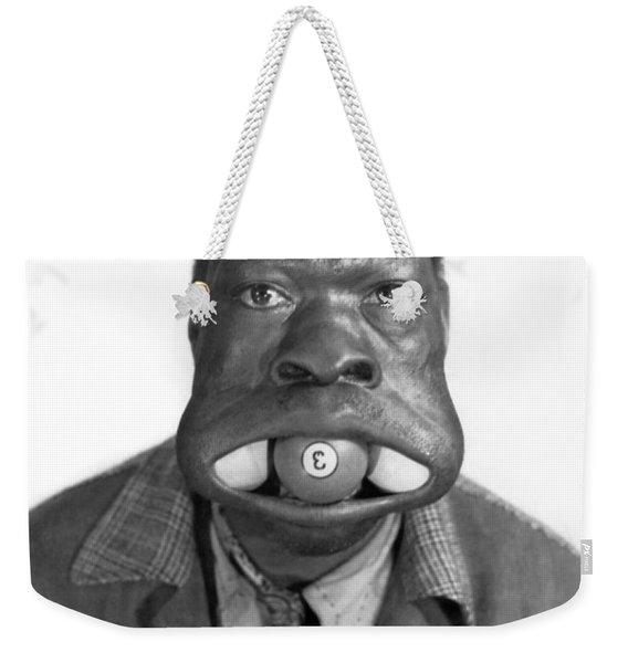 Three Ball Charlie Weekender Tote Bag