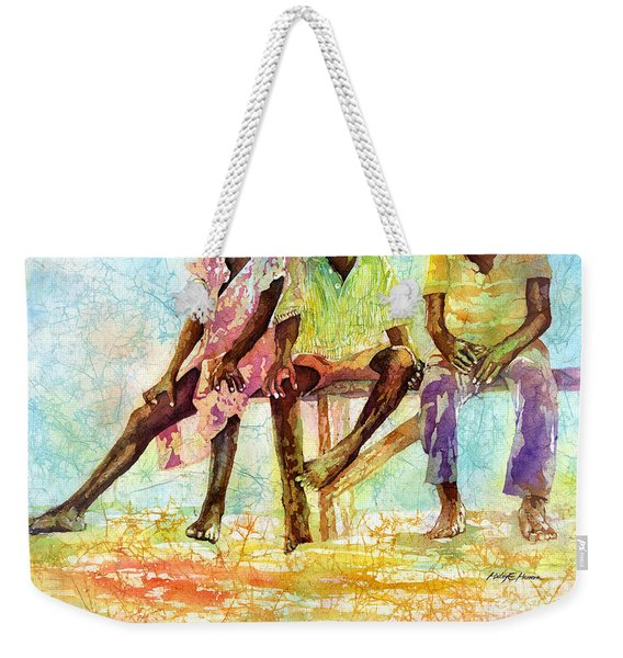 Three Children Of Ghana Weekender Tote Bag
