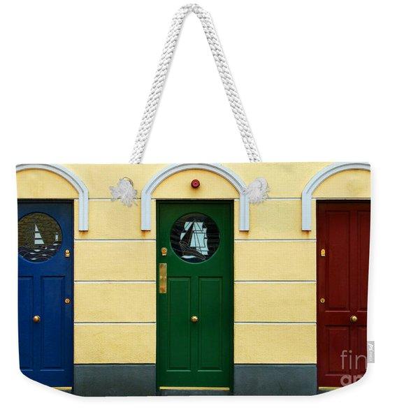 Three Doors Weekender Tote Bag