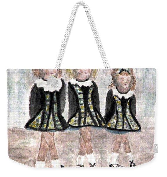 Three Irish Lasses Weekender Tote Bag