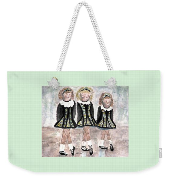 Three Irish Lasses Weekender Tote Bag