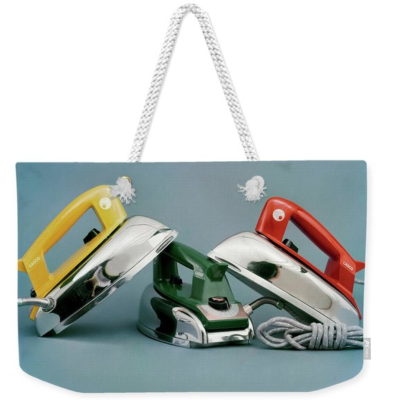 Three Irons By Casco Products Weekender Tote Bag