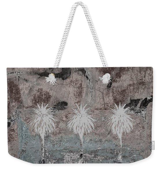 Three Palms Oasis Weekender Tote Bag