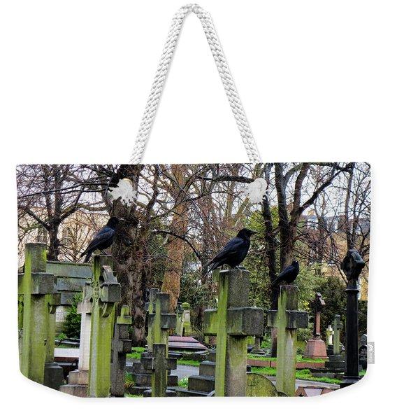 Three Ravens Weekender Tote Bag
