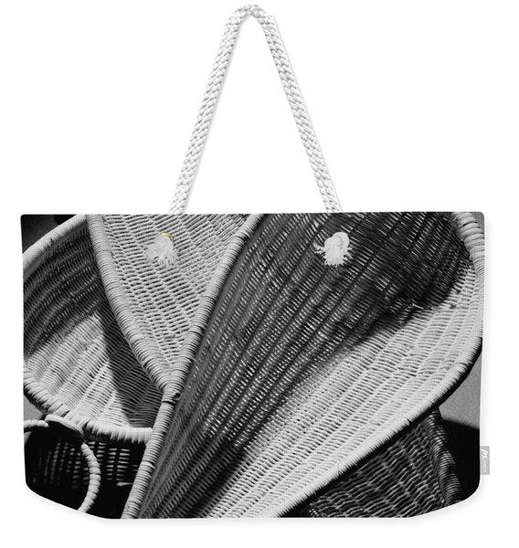 Three Reed Baskets Weekender Tote Bag