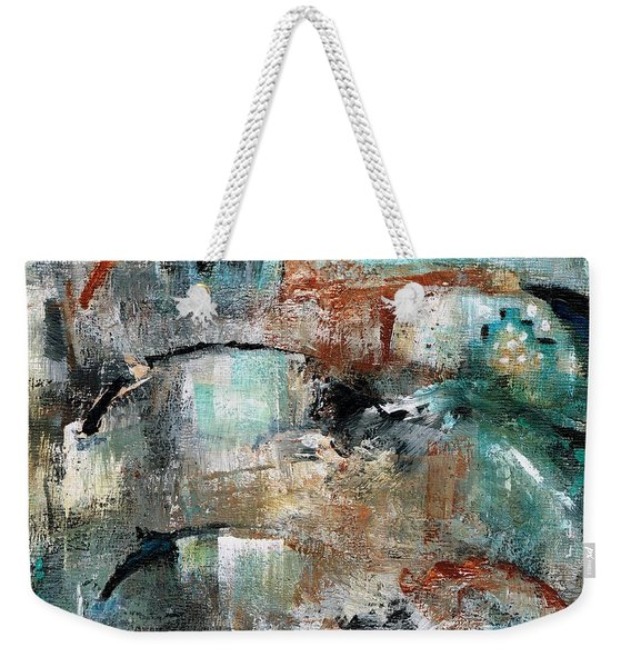 Three Running Horses Weekender Tote Bag