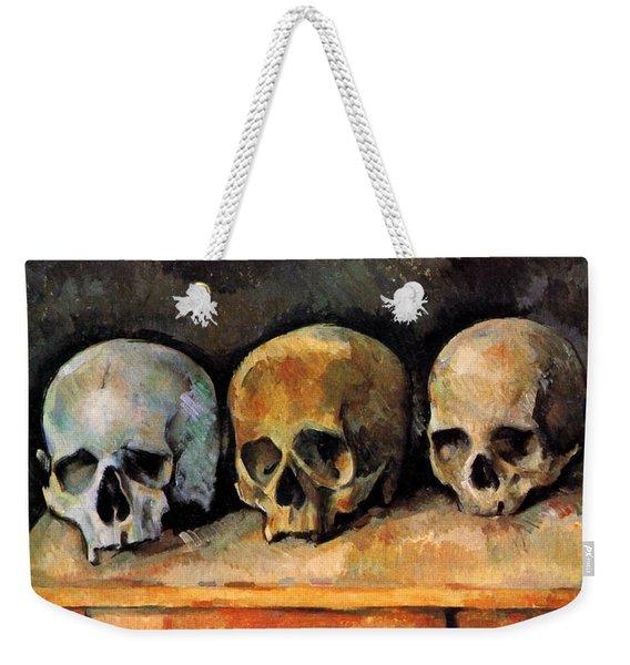 Three Skulls Weekender Tote Bag