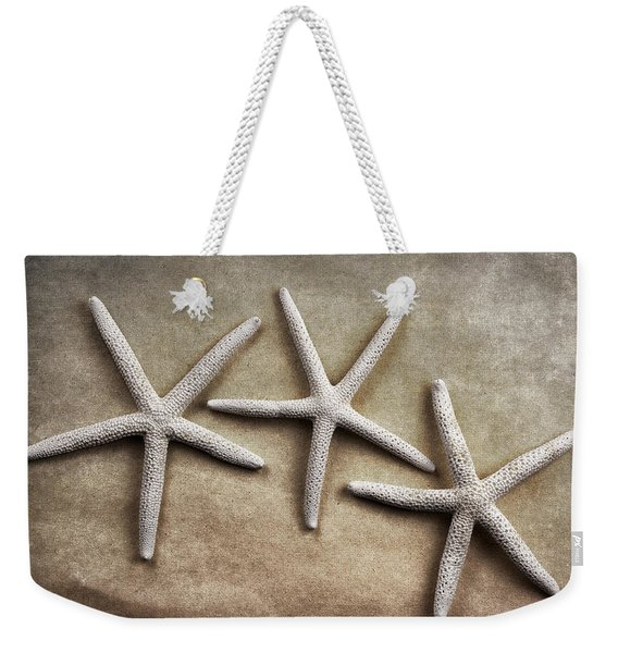 Three Starfish Weekender Tote Bag