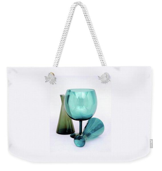 Three Venini Glasses Weekender Tote Bag