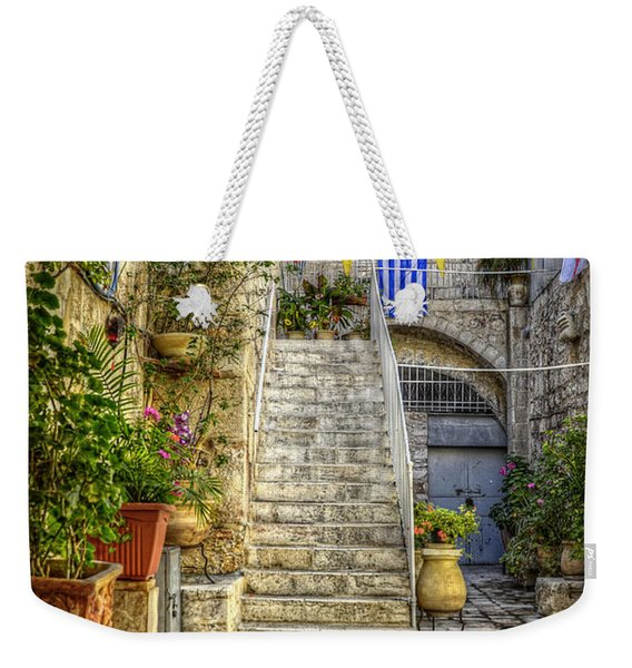 Through The Doorway Weekender Tote Bag
