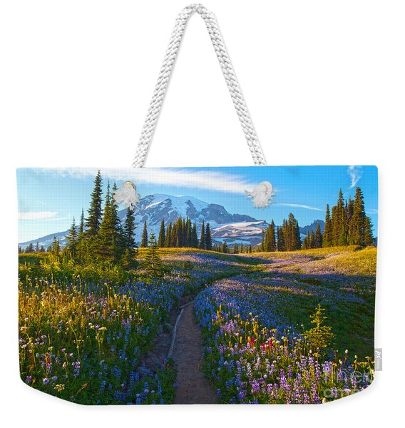 Through The Golden Meadows Weekender Tote Bag
