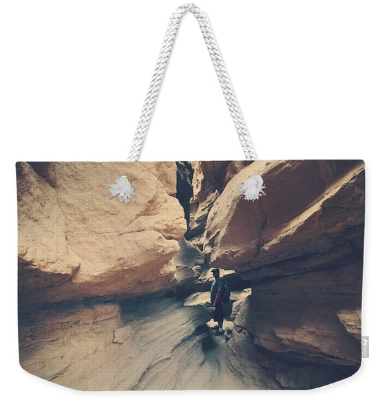 Through There Weekender Tote Bag