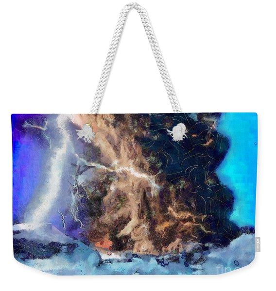 Thunder Struck Weekender Tote Bag