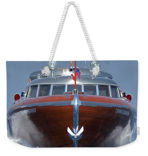 Thunderbird Yacht Weekender Tote Bag