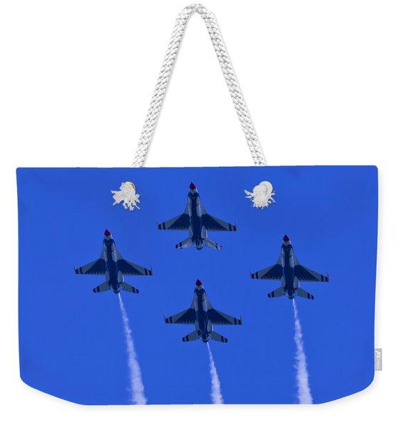 Thunderbirds Diamond Formation Undersides 2 Weekender Tote Bag