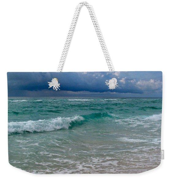 Thunderstorm Arrives Weekender Tote Bag