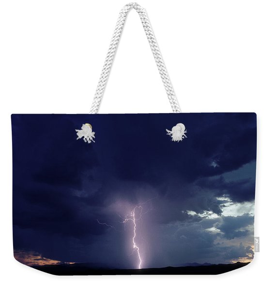 Thunderstorm Over Sedona, Arizona Weekender Tote Bag