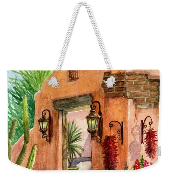 Tia Rosa Time Weekender Tote Bag