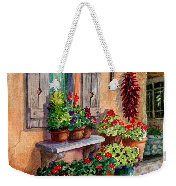 Tia Rosa's Place Weekender Tote Bag