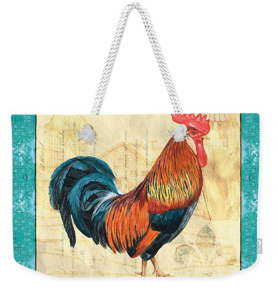Tiffany Rooster 1 Weekender Tote Bag