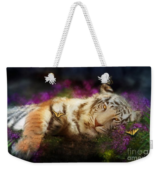Tiger Dreams Weekender Tote Bag