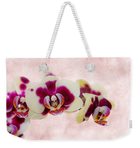 Tiger Orchid Weekender Tote Bag