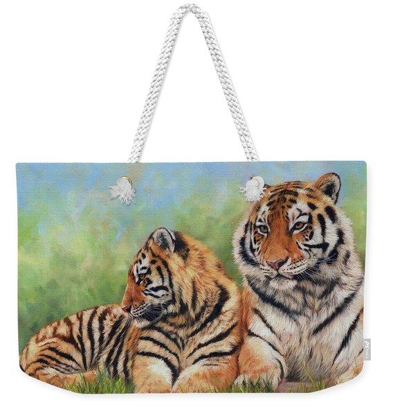 Tigers Weekender Tote Bag