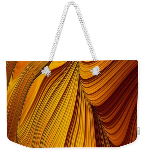 Tiger's Eye Weekender Tote Bag