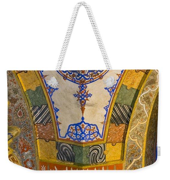 Tile Color Weekender Tote Bag