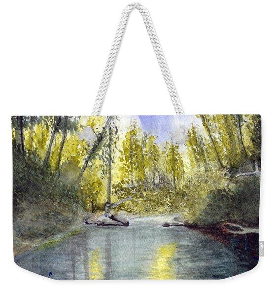 Tillamook Fishing Weekender Tote Bag