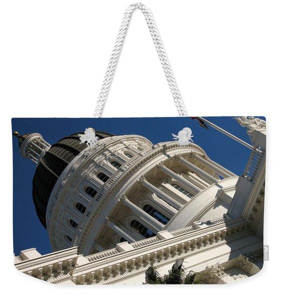 Tilted Dome Weekender Tote Bag