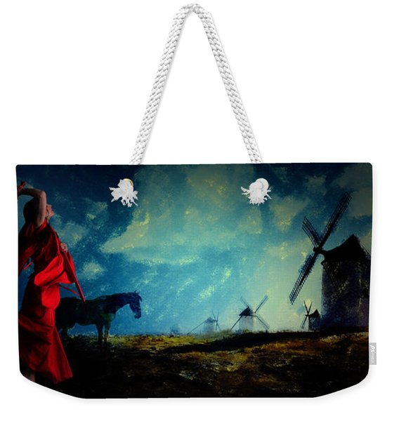 Tilting At Windmills Weekender Tote Bag