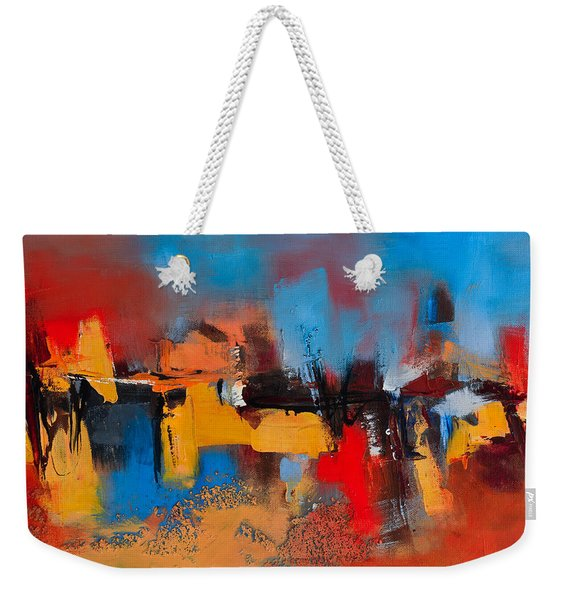 Time To Time Weekender Tote Bag