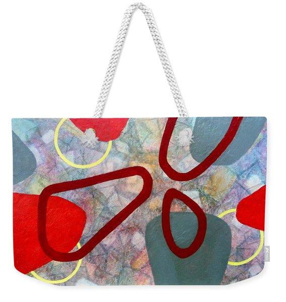 Time Warp - For Mica Weekender Tote Bag