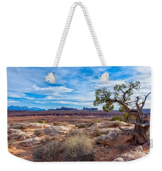 Timeless Arches National Park Weekender Tote Bag