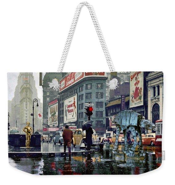 Times Square 1943 Reloaded Weekender Tote Bag
