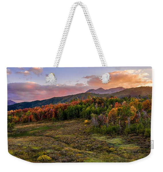 Timp Fall Glow Weekender Tote Bag