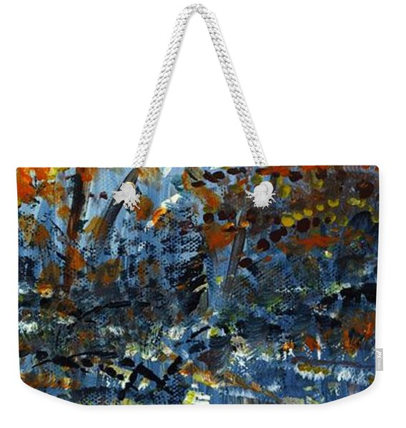 Tim's Autumn Trees Weekender Tote Bag
