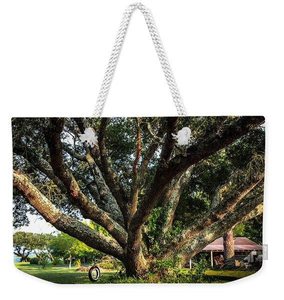 Tire Swing Weekender Tote Bag